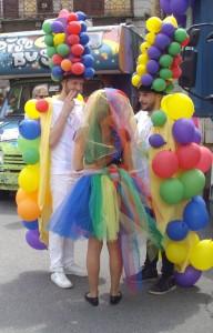 Immagini pride palloncini