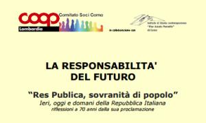 La responsabilità del futuro